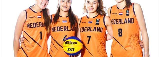 2019_3x3_Orange Lions_WK U18-Vrouwen_Team