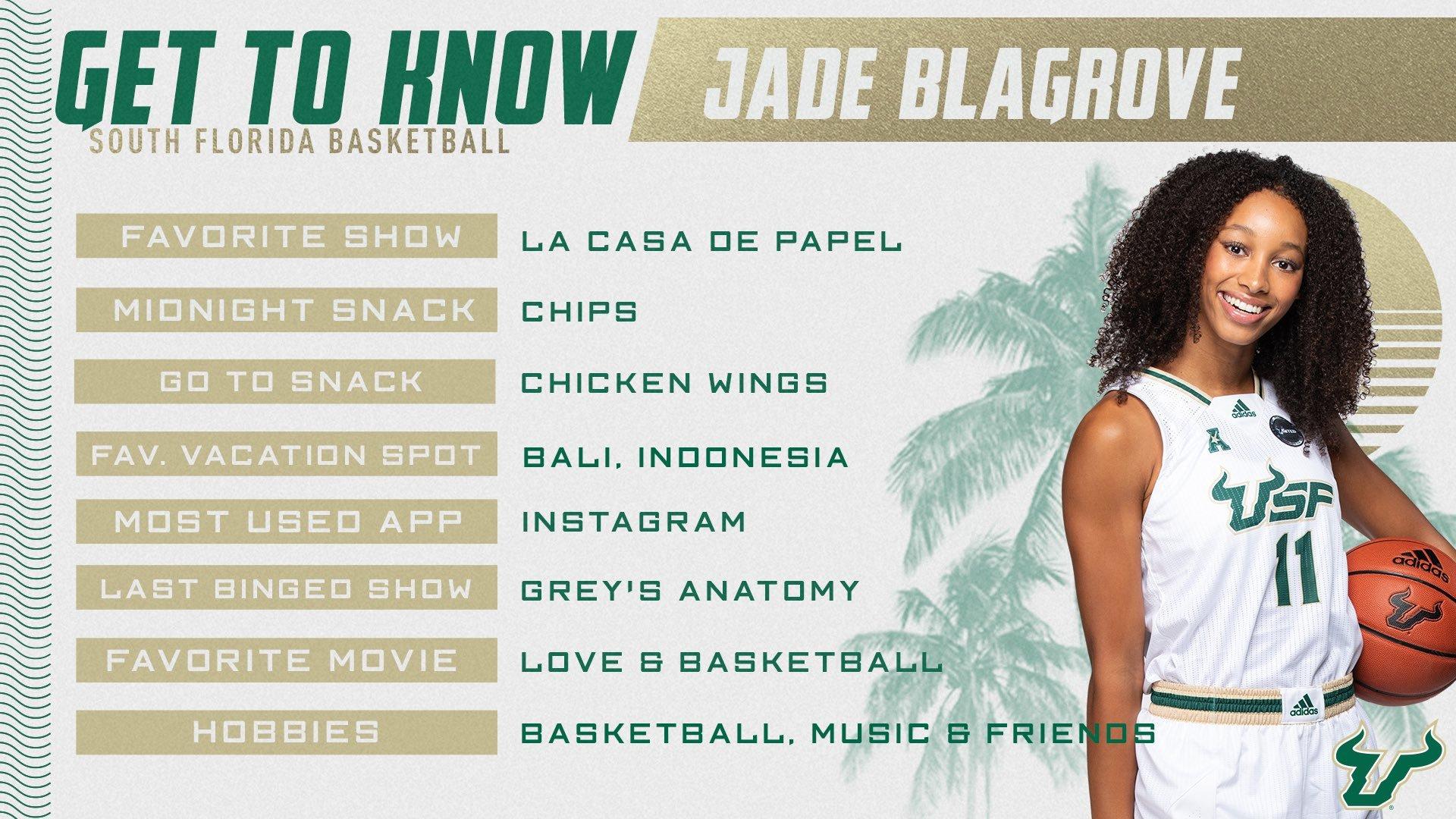 Jade Blagrove USF 2