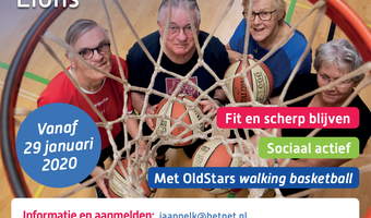 Walking basketball landsmeer