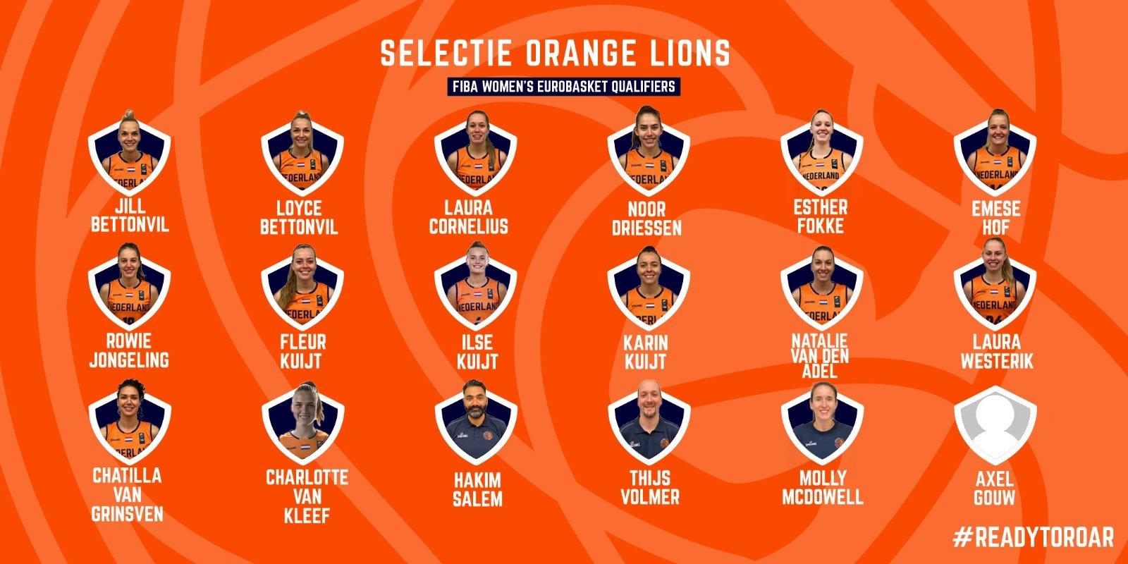2020_Selectie_Orange Lions W_