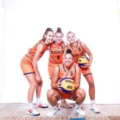 2019_3x3_Orange Lions_VU23_Nations League_Teamfoto